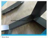 建築材料のアルミ合金の正面