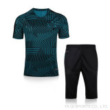 Il nuovo modo 2017 progetta l'uniforme per il cliente di addestramento di gioco del calcio della Jersey di calcio