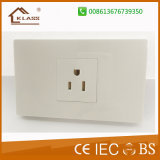 Ce Aprovação 2gang 1way Switch + 3 Pole Electric Wall Socket