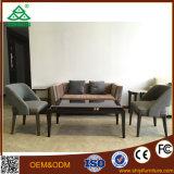 Vendita calda nessun sofà piegato dell'ufficio del tessuto di disegni stabiliti di congresso di ricezione