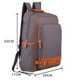 Sac d'école en nylon imperméable à l'eau de Mochila, sacoche pour ordinateur portable, sac de sac à dos d'ordinateur