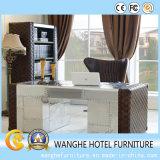 Tabla de hotel mobiliario de oficina rectangular con encimera Ejecutivo del cuero