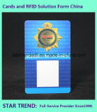 Drucken-Karte der Farben-vier für Sicherheitsbeamten