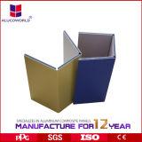 Matériau de feuille composé en aluminium ignifuge