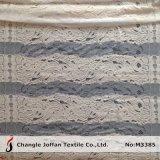 ゆがみの服装(M3385)のための編む綿のレースファブリック