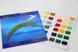 책을 인쇄하는 색깔 도표를 그리십시오