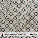 Rendas de croché tecido de algodão para roupa (M3007)