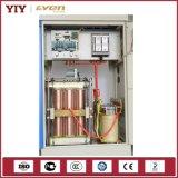 50kVA controle do servo motor de regulador de tensão automática de 3 fases