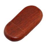 À extrémité élevé graver le bois de rose en bois en bloc de lecteurs flash USB du bâton 1GB