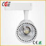 LED de 2 ans de garantie plafond Tracklight Boutique de l'éclairage à LED Spot PAR30 85V-265V