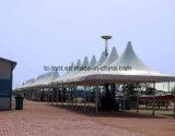 6x6m Gazebo al aire libre Tiendas, Jardín, carpa tienda de los indios de la estrella