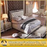 حديثة [بو] سرير غرفة أثاث لازم غرفة نوم مجموعة معدنة إطار سرير
