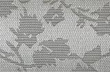 Het zilveren Weefsel pvc Geweven Placemat van de Jacquard voor Huis & Restaurant