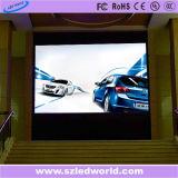 P3のP6広告のための屋内レンタルフルカラーのダイカストで形造るLED表示スクリーンのビデオ(セリウム、RoHS、FCC、CCC)