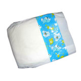 Película de PE branco das fraldas para bebés sonolento descartáveis design engraçado