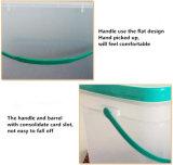 Rectángulo plástico 15L de la categoría alimenticia de HDPE/PP