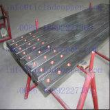 Barra de distribución de cobre libre de cobre del Tu 2 revestidos Titanium /Oxygen para las líneas de la galvanización