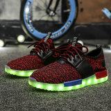 2017 ботинок спорта СИД нового типа цветастых с светами СИД