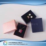 Reloj/joyería/regalo de lujo rectángulo de empaquetado de la visualización de madera/del papel (xc-hbj-030)