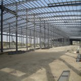 대중적인 모형 니스 질을%s 가진 Prefabricated 가벼운 강철 구조물 창고 창고