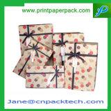 Boîte de empaquetage à chocolat en forme de coeur fait sur commande de cadeau