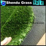 Groen Kunstmatig Gras 10mm van het Tapijt met Hoogte - dichtheid