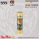 Batterij van de AMERIKAANSE CLUB VAN AUTOMOBILISTEN van de tijger de Hoofd met Buitengewoon hoge Macht