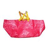 100 % de matières premières de sacs tissés en PP avec avec plastification pour la farine d'impression couleur d'alimentation blanc 50x100cm Sacs PP