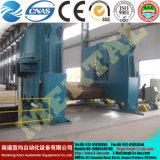 Машина завальцовки Mclw11s-120*3000 плиты CNC выдвиженческого Ce 3 Rolls плиты ролика Approved