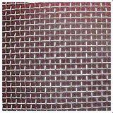 Tecelagem de fio simples orifício quadrado de malha de arame galvanizado
