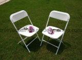 Plástico/Metal Jardín silla plegable