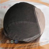 Venda a quente de qualidade superior curto de seda loira Top Peruca (PPG-L-0315)
