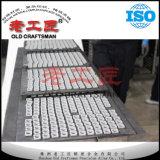 Icsn CNCの切断の挿入のための433の超硬合金のシムのシート