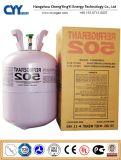 냉각제 R502 (R134A, R404A, R410A, R422D, R507, R22, R12)의 고품질 높은 순수성 혼합 냉각하는 가스