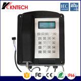 Knex Kntech1 Telefone Explostion-Proof de baixo ruído para a mina de carvão Industrial