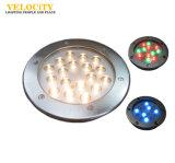 수영장을%s 24V 15W/30W 다중 색깔 방수 IP68 RGB LED 수중 빛