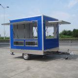 De mobiele Karren van het Voedsel van het Ontbijt voor Verkoop, de Vrachtwagen van de Verkoop van het Voedsel jy-B18