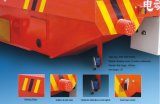 Document die de Kabel van de Industrie maken de Aangedreven Elektrische Vlakke Aanhangwagen van het Spoor winden