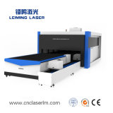 Tagliatrice piena del laser della fibra del tubo del metallo di protezione Lm3015hm3