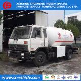 Низкая цена 15000литров 15МУП 8 тонн сжиженного нефтяного газа Bobtail Dongfeng автоцистерны грузовики для продажи