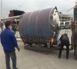 depósito de mistura de aço inoxidável de aquecimento eléctrico com agitador de entrada superior