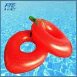 De reuze Opblaasbare Drijvende Rij van de Pool voor Stuk speelgoed van het Water van het Jonge geitje het Opblaasbare