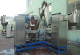 ペットおよびPEの薄片両方のための洗浄および乾燥機械