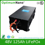 Lithium-Batterie der Batterie-48V 125ah für Sonnensystem