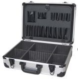 Caso di alluminio di volo della cassetta portautensili di caso di memoria del metallo della camera di equilibrio di buona qualità