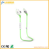O fone de ouvido de Bluetooth do esporte pode indicar a capacidade da bateria em Apple Iphones