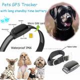 Perro de alta calidad resistente al agua IP66 Animal GPS Tracker (EV-200).