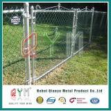 Загородка звена цепи черного порошка Coated и стробы/панели загородки металла для сбывания