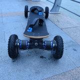 """Elétrico fora do """"trotinette"""" ao ar livre do retrocesso de quatro rodas da cidade com bateria de lítio"""