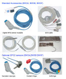 任意選択IBPのNIBP、ECG、NIBP、温度、脈拍数、徴候のモニタ、Sidestream Etco2または主流Etco2
